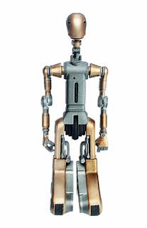 "Hasbro Star Wars Amazon.com Exclusive 3.75"" Droid Factory FA-4 Figure"