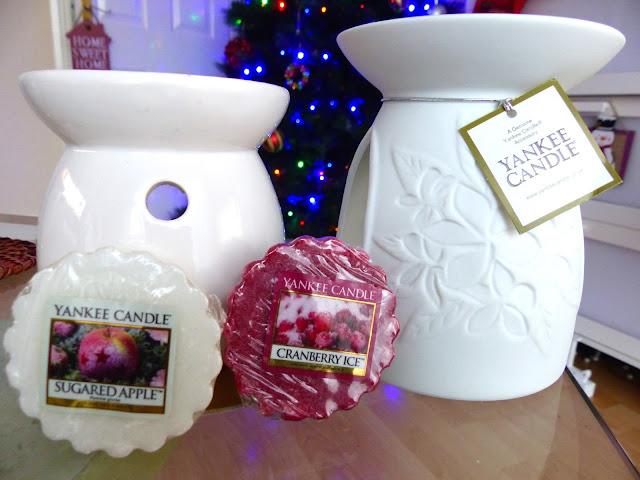 Xmas Tart Wax and Wax Melt Warmer - Świąteczne woski oraz kominki:)