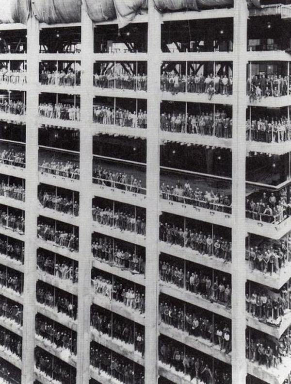 One Chase Manhattan Plaza, New York, 1955