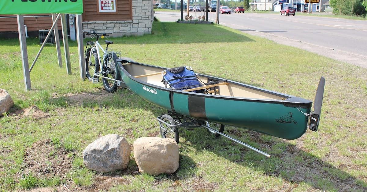TRAINING WHEELS NOT INCLUDED: Canoe Hauler