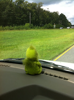 The Grinch on the road