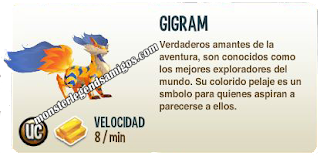 imagen de la descripcion del monster gigram