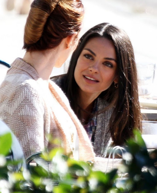 Mila Kunis – 'Bad Moms' Set in New Orleans