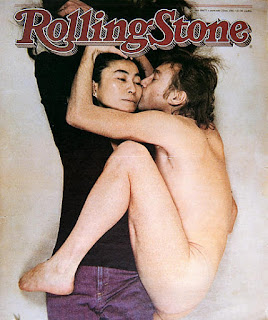 John Lennon and Yoko Ono by Annie Leibovitz