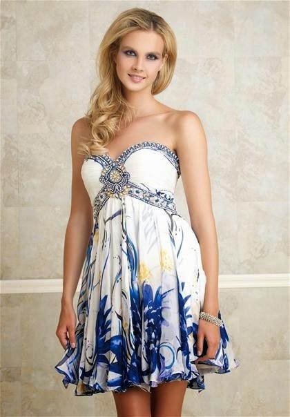 vestido curto estampado em malha - fotos e modelos