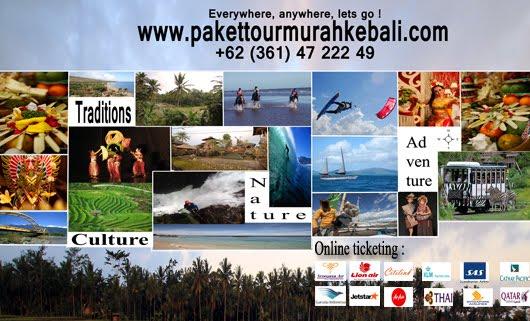 Promo Paket Tour Murah Ke Bali Taman Ujung  Malam Free Gift Box