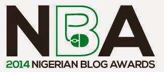 Nominee - Nigerian Blog Awards 2014
