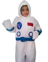 kostum rofesi astronot untuk anak