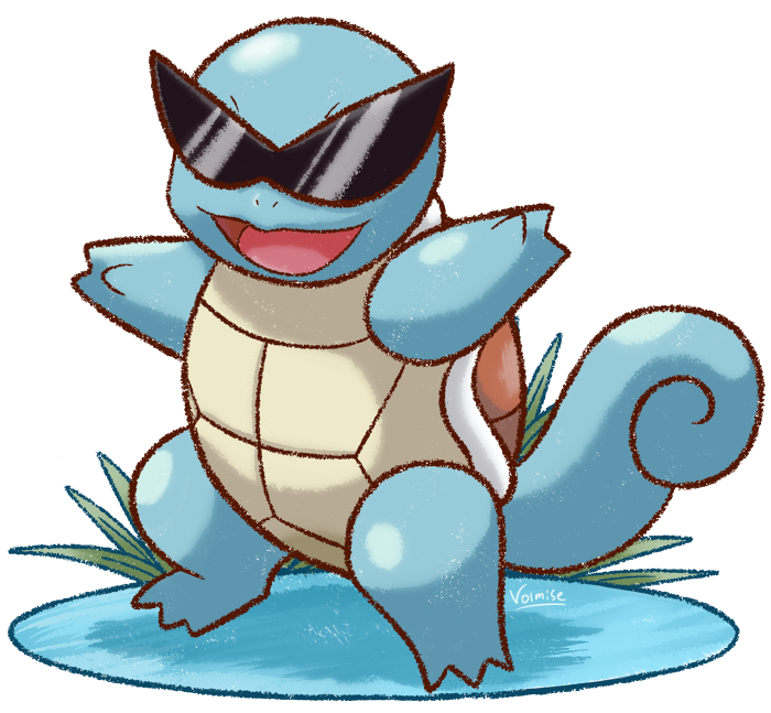 pokà mon by review 7 9 squirtle wartortle blastoise