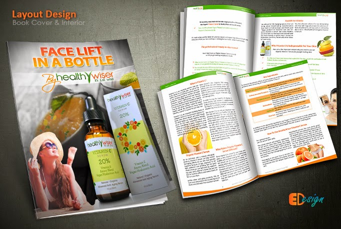 Product guide booklet design with book cover | Edesign9