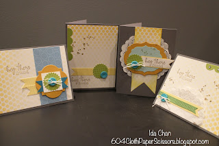 #MyPaperPumpkin welcome kit by Ida Chan #StampinUp Vancouver