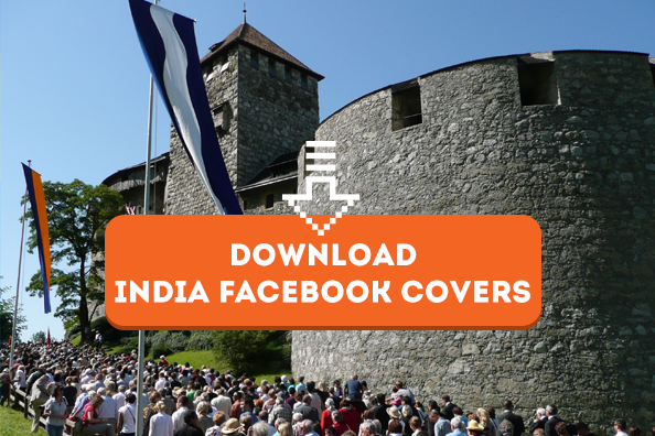 Click to Download Independence Day Facebook Covers, Whatsapp DP Indian Flag