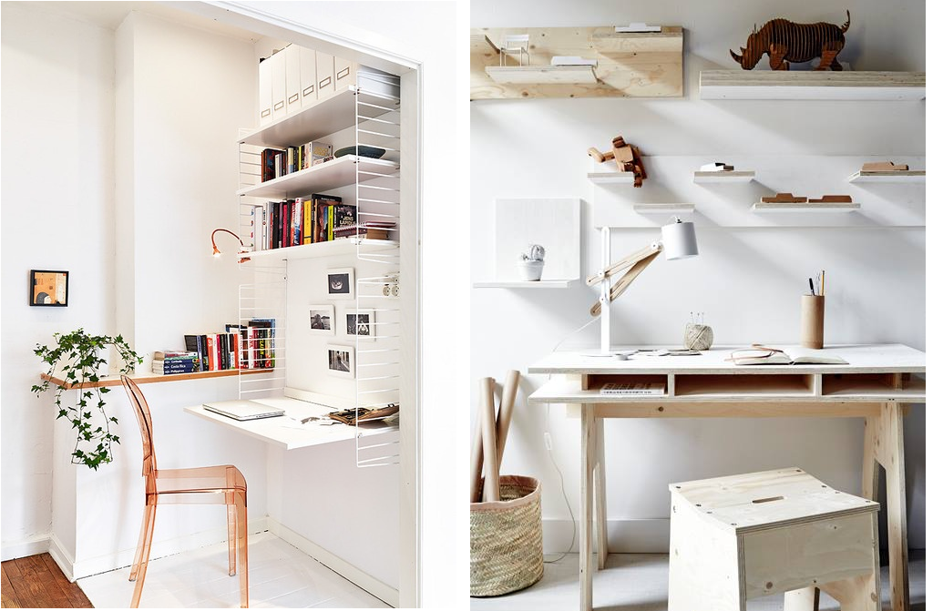 Twii 39 s blog bureau biblioth que pour petits espaces for Idee bureau pour petit espace