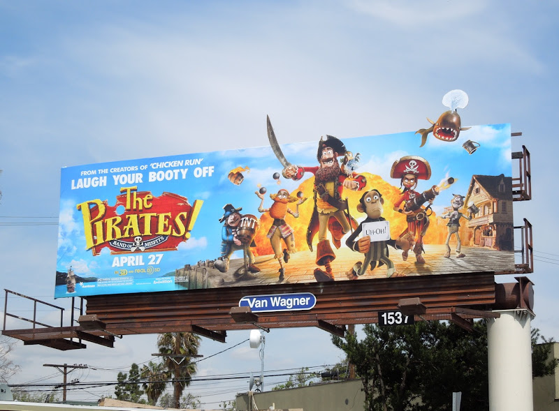 Pirates billboard