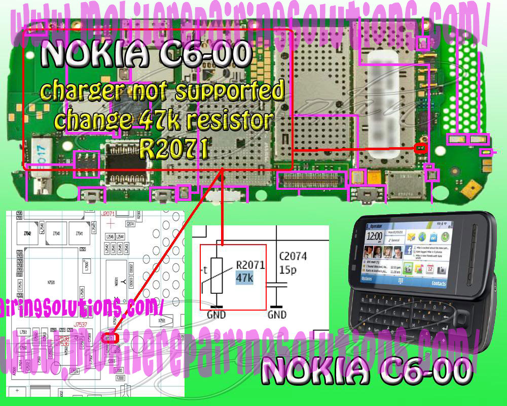 Not Charging, C6-00 Not Charging Solution, Charging, CHARGING WAYS