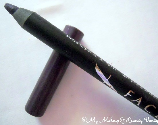 Faces Cosmetics Long Wear Eye Pencil in Purple+Faces cosmetics, faces cosmetics online india, eye makeup products+eyepencil