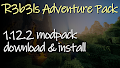HOW TO INSTALL<br>R3b3ls Adventure Modpack [<b>1.12.2</b>]<br>▽