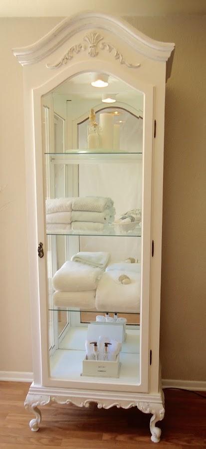 Vintage Curio Cabinet - SOLD