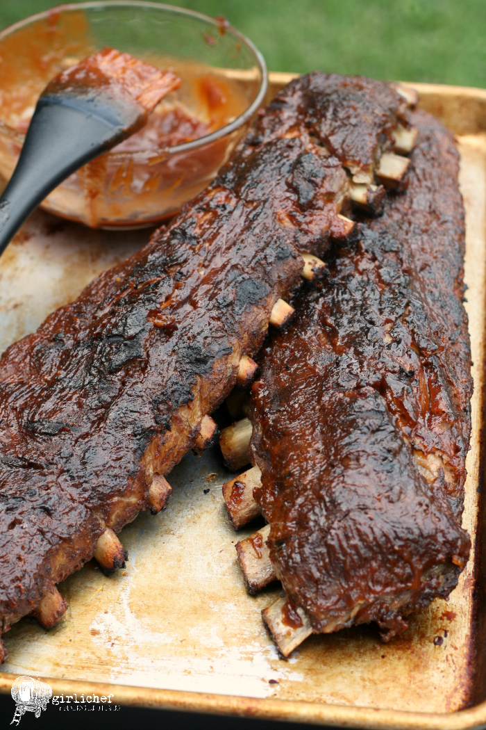 Apple barbecue grilled ribs all roads lead to the kitchen - Ribs on the grill recipe ...