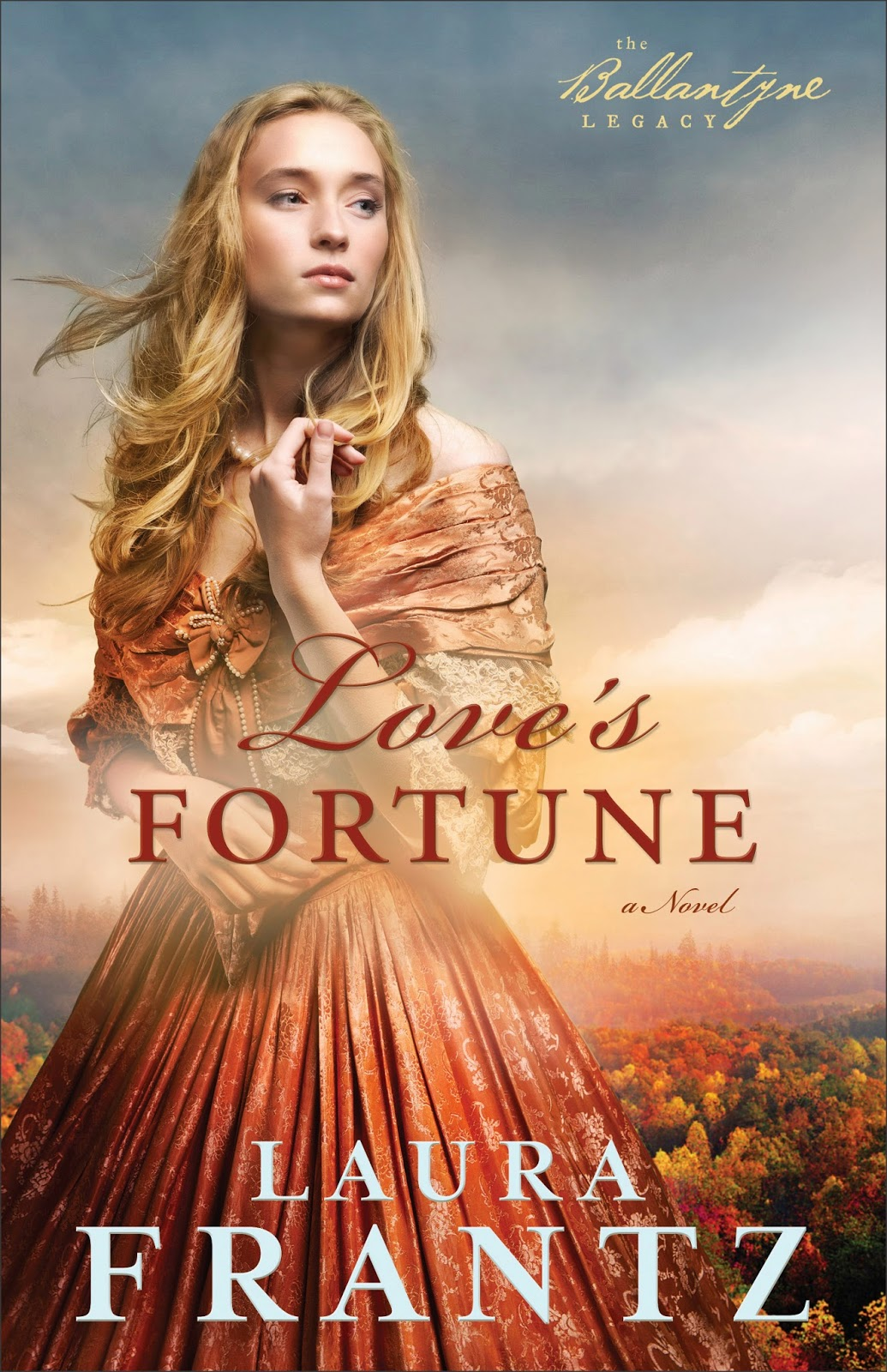 Romance Book Cover Review : Love s fortune by laura frantz an historical romance review