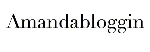 Amandabloggin