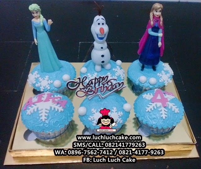 Cupcake Frozen Daerah Surabaya - Sidoarjo