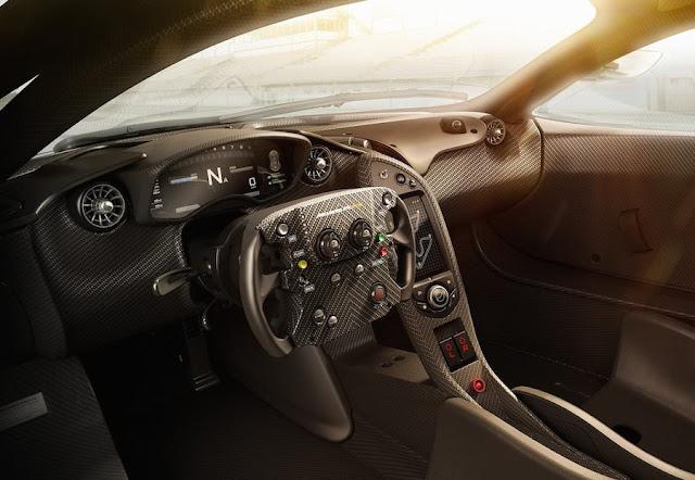 スーパーカー マクラーレンP1 GTR
