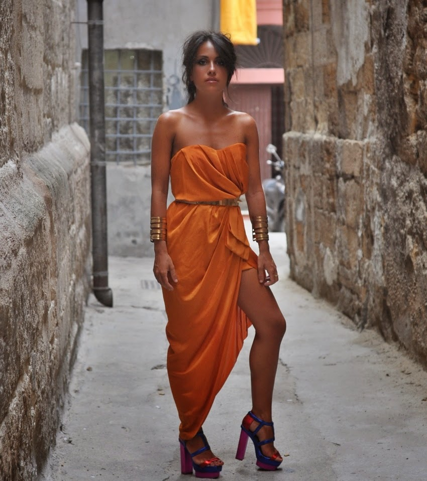 chicetoile-francescacastellano-taranto-vecchia-2014-orange-dress