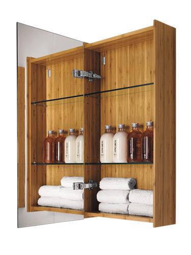 Bamboo Medicine Cabinet
