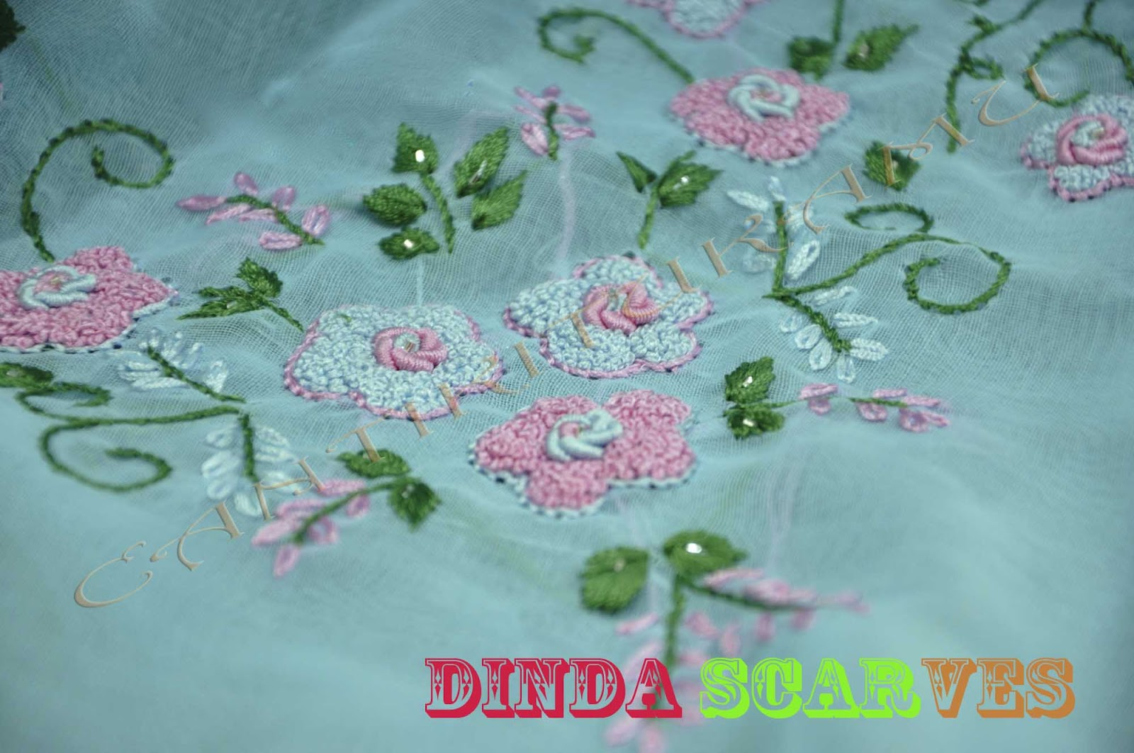 DINDA SCARVES-SOLD OUT-TQ!!