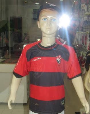Camisa 1 infantil do Vitória 2011 Penalty
