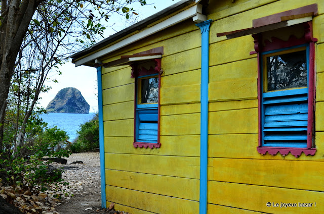 Martinique - Le Diamant - Anse Caffard - maison du Bagnard