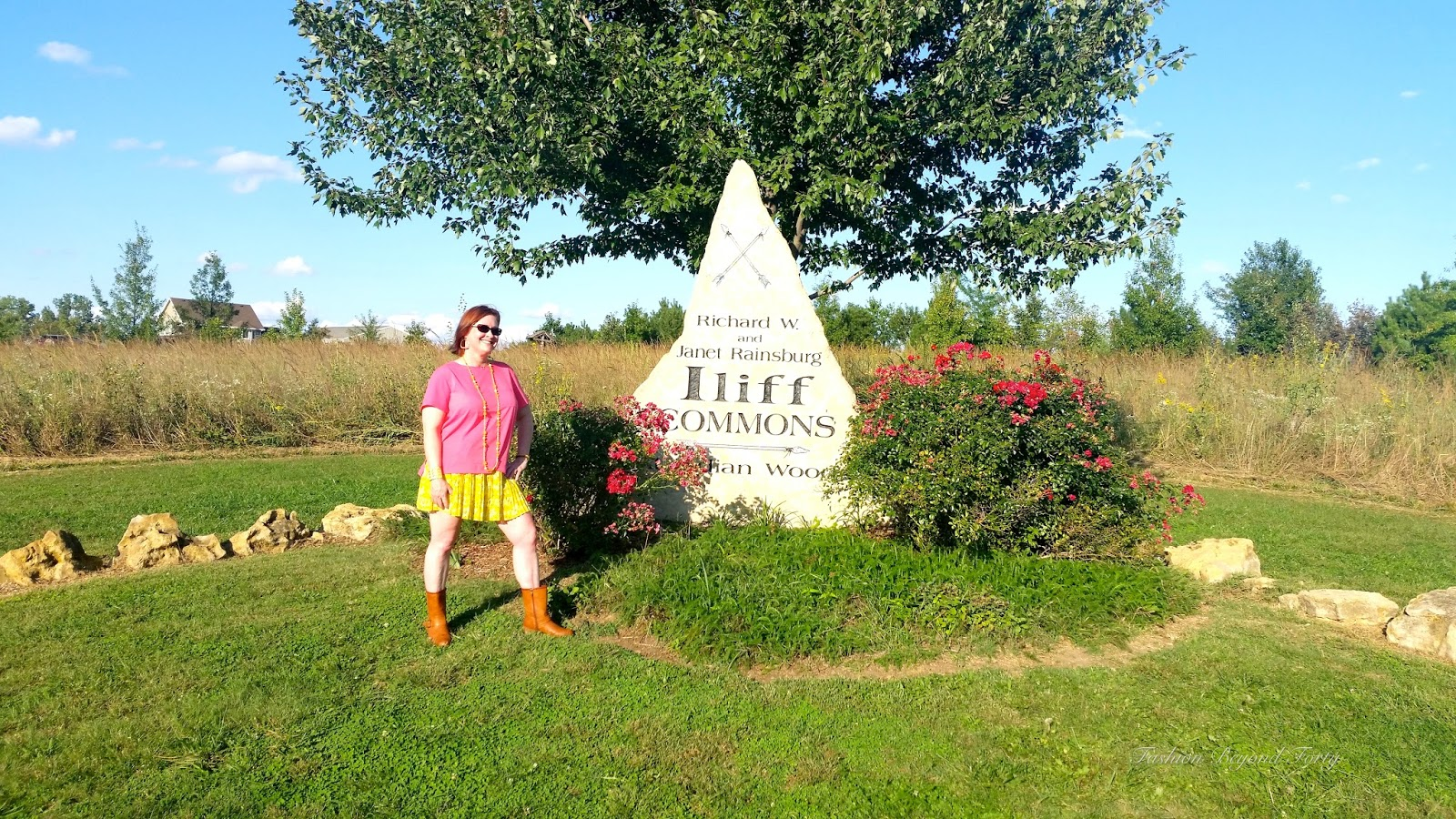 Iliff Commons Monument