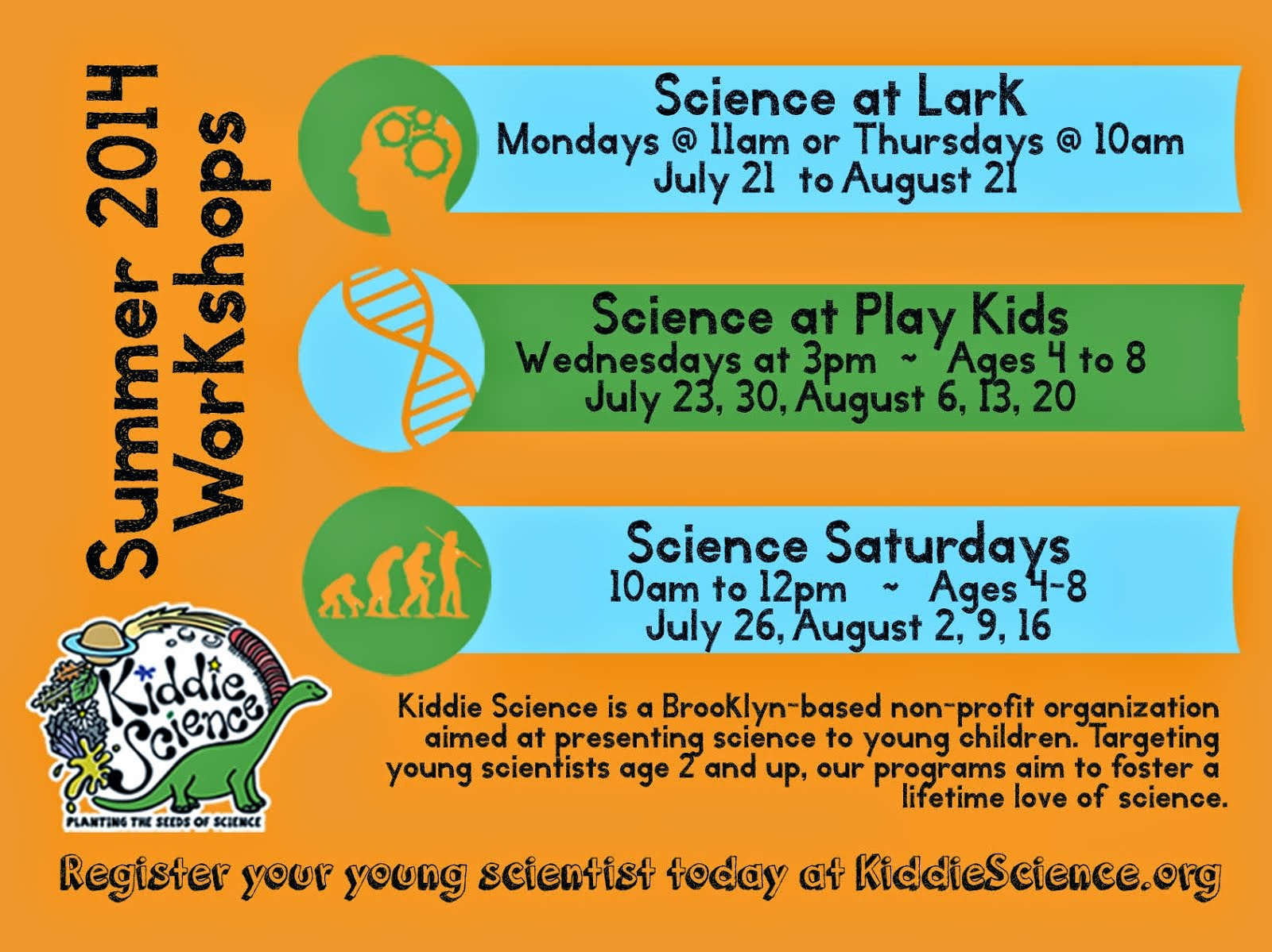 Kiddie Science Calendar