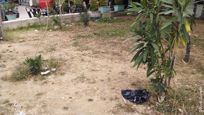 Несостоявшийся газон в Ульцине