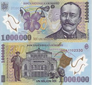 Romania 1 Million (1,000,000)