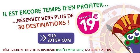iDTGV.com: vos billets à partir de 19€