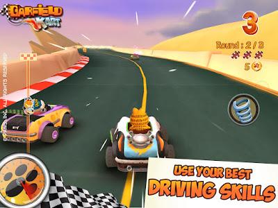 Garfield Kart v1.03 Apk