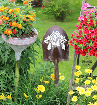 Shovel Head Garden Art