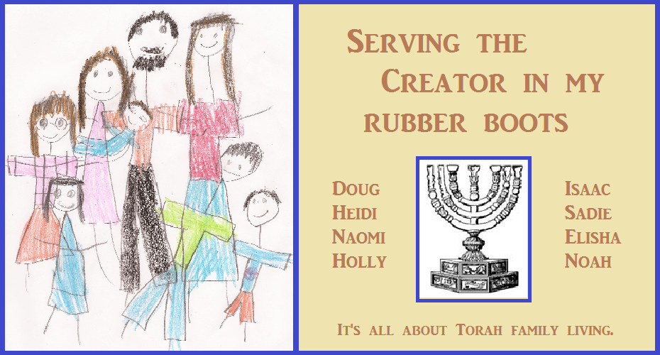 Serving the Creator in my rubber boots