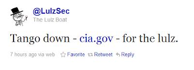 LulzSec-Angriff auf CIA