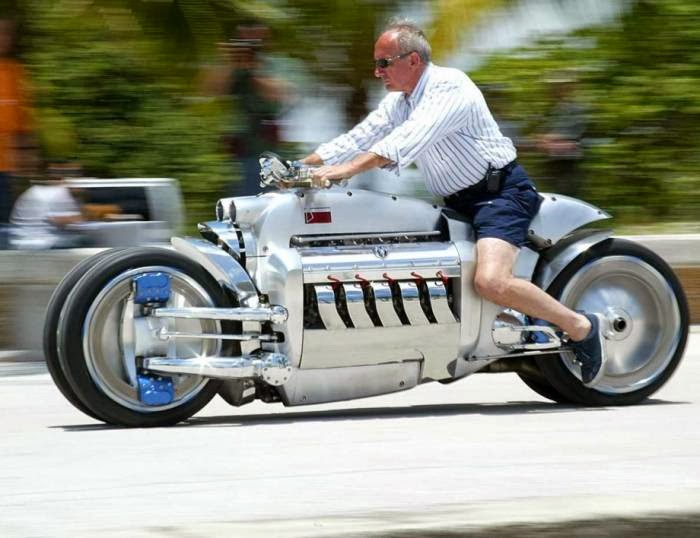 Incredible Dodge Tomahawk Motorcycle