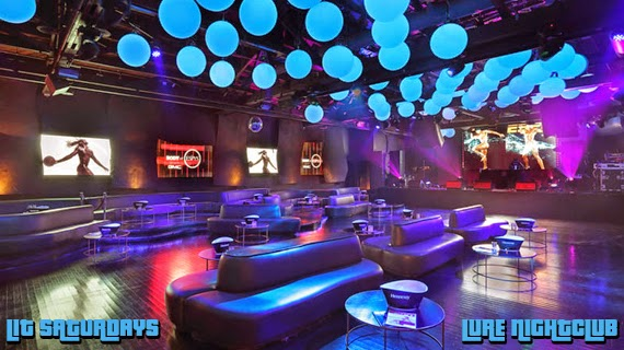 """Lure Nightclub Saturdays 2014 August 9th"""