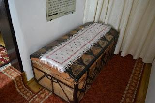 Scrinul din interiorul casei Memoriale Alexandru Vlahuţă