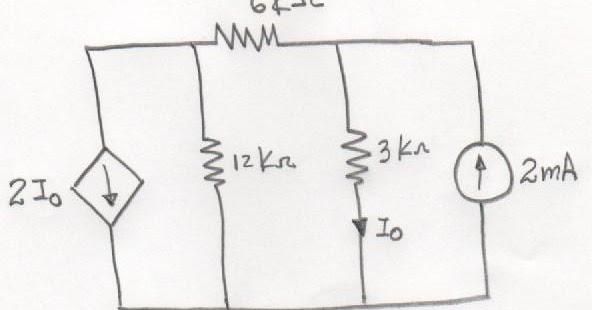 circuitos el u00e9ctricos  fuentes dependientes