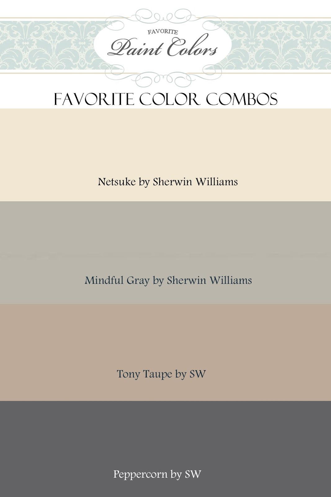 Gray and beige color combination favorite paint colors blog for Grey beige paint color