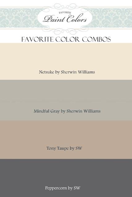 Gray And Beige Color Combination Favorite Paint Colors Blog