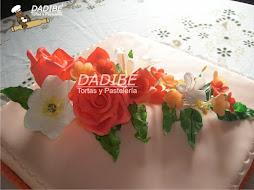 Flores en cerámica