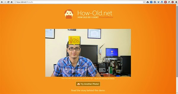 جرب الخدمة الجديدة من مايكروسوفت لمعرفة عمر أي شخص من خلال صورته فقط !