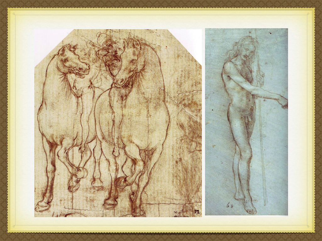 how did leonardo da vinci and michelangelo influence the art of the 16th century in italy and europe One day, leonardo da vinci was passing through the piazza santa trinita in florence some gentlemen were debating dante in front of the spini family palace they called leonardo over and asked him.